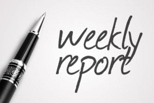 Weekly Reports Keep Our Claims in Check