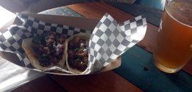 Chicken and Brisket Tacos