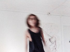 Movement in dissolvation.