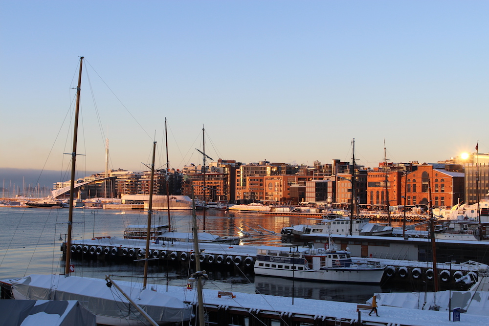 A weekend in Oslo - view of Oslo harbour