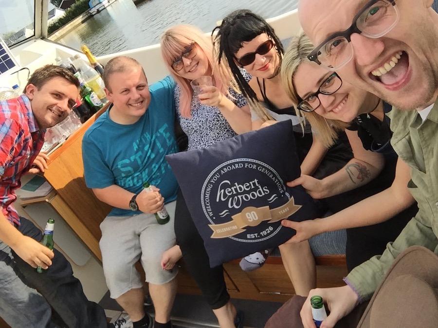 Boating on the Norfolk Broads