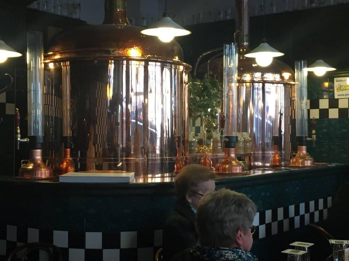 Brewery tour of Prague