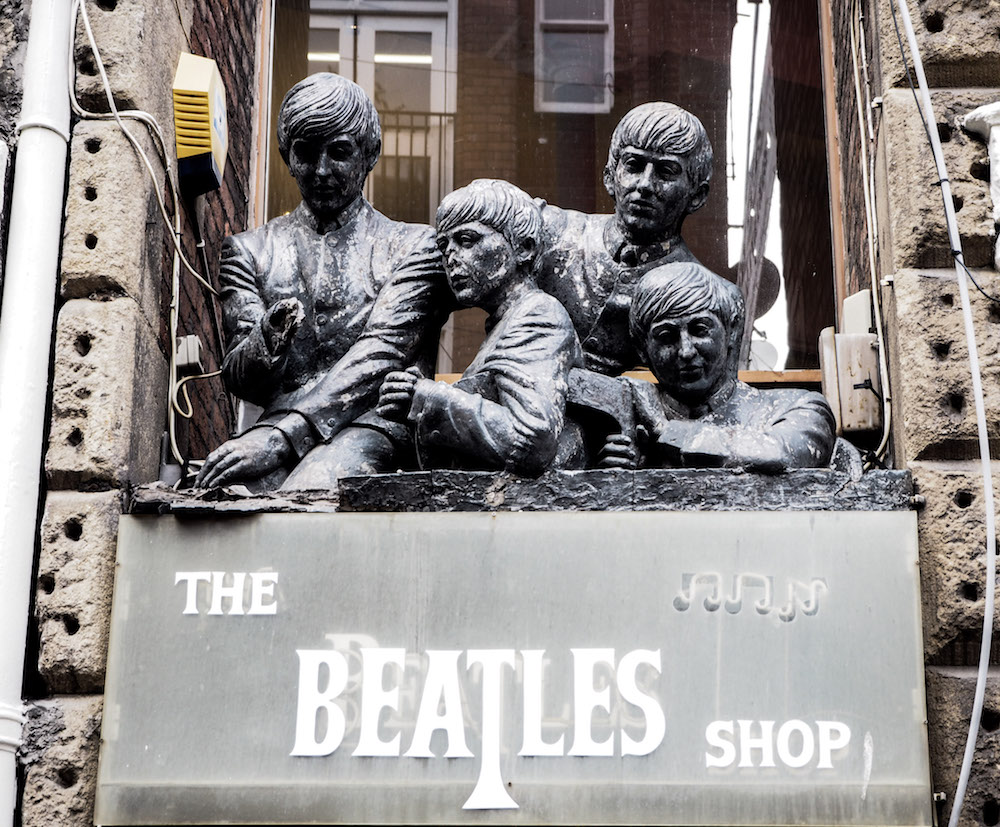 The Beatles Shop, Liverpool - A Weekend In Liverpool