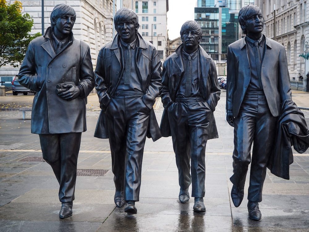 Beatles Statue, Liverpool - A Weekend In Liverpool