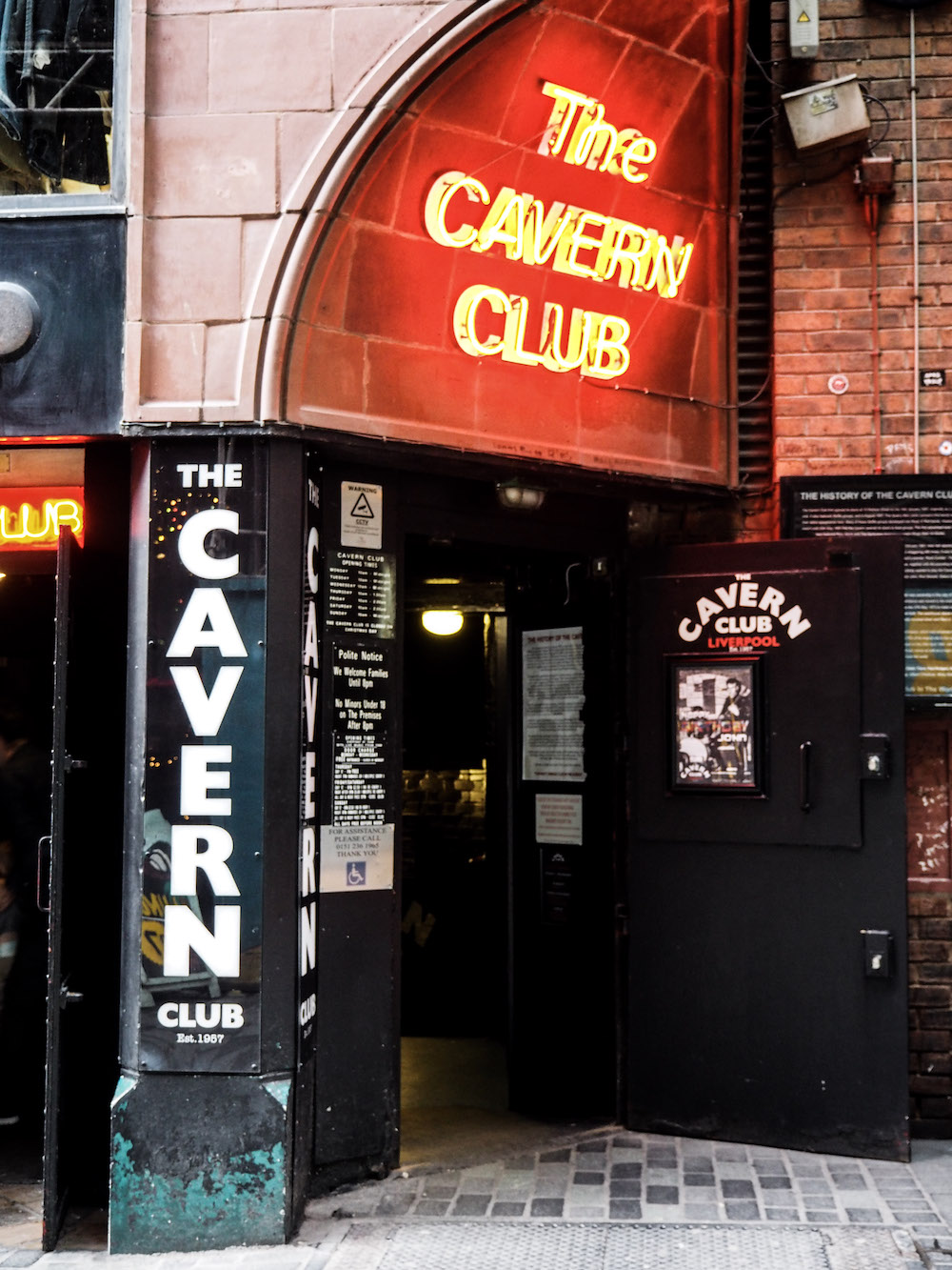 Cavern Club, Liverpool - A Weekend In Liverpool