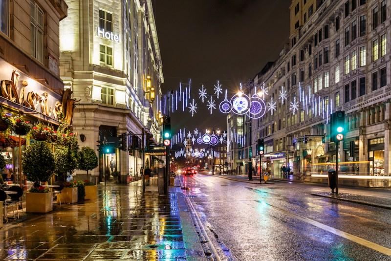 Christmas Weekend in London