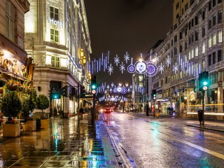 Christmas Weekend in London