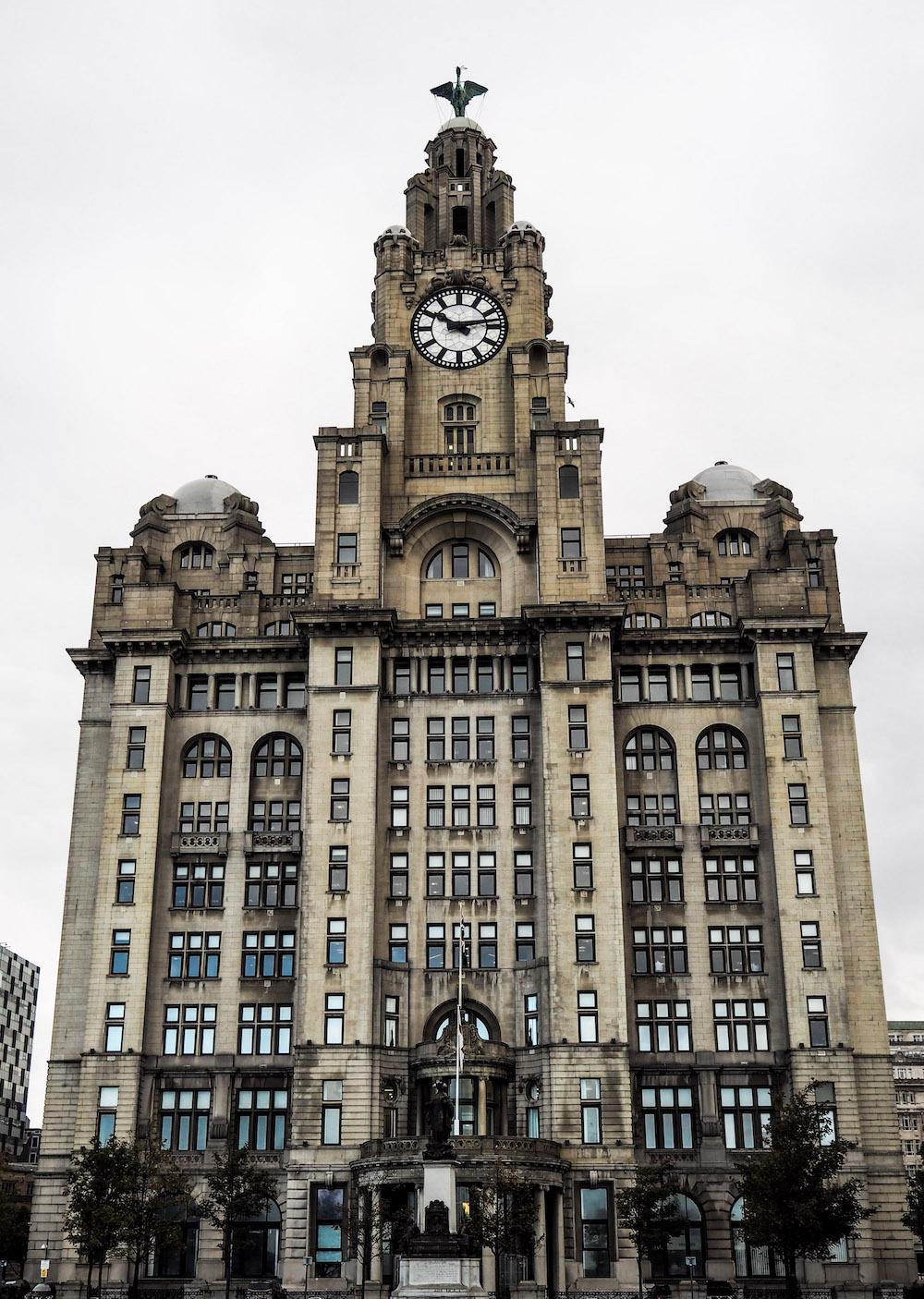 The Liverpool Docks