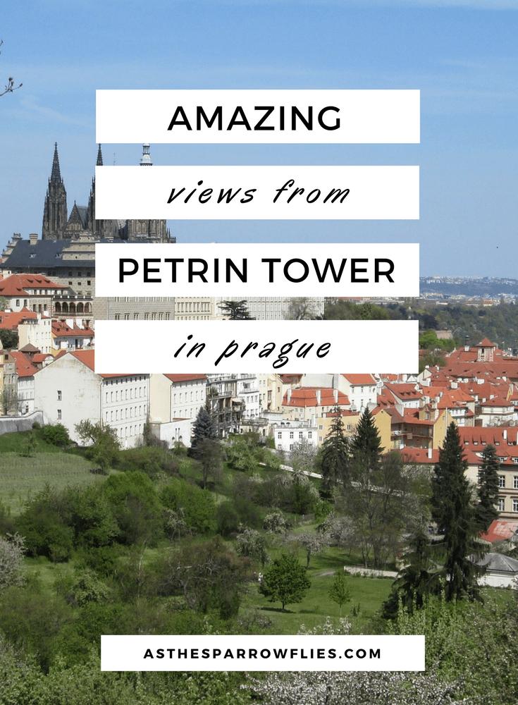 Petrin Observation Tower   Prague   Prague City Break   Petrin Hill   What To See In Prague #Prague #PragueCityBreak #TravelTips