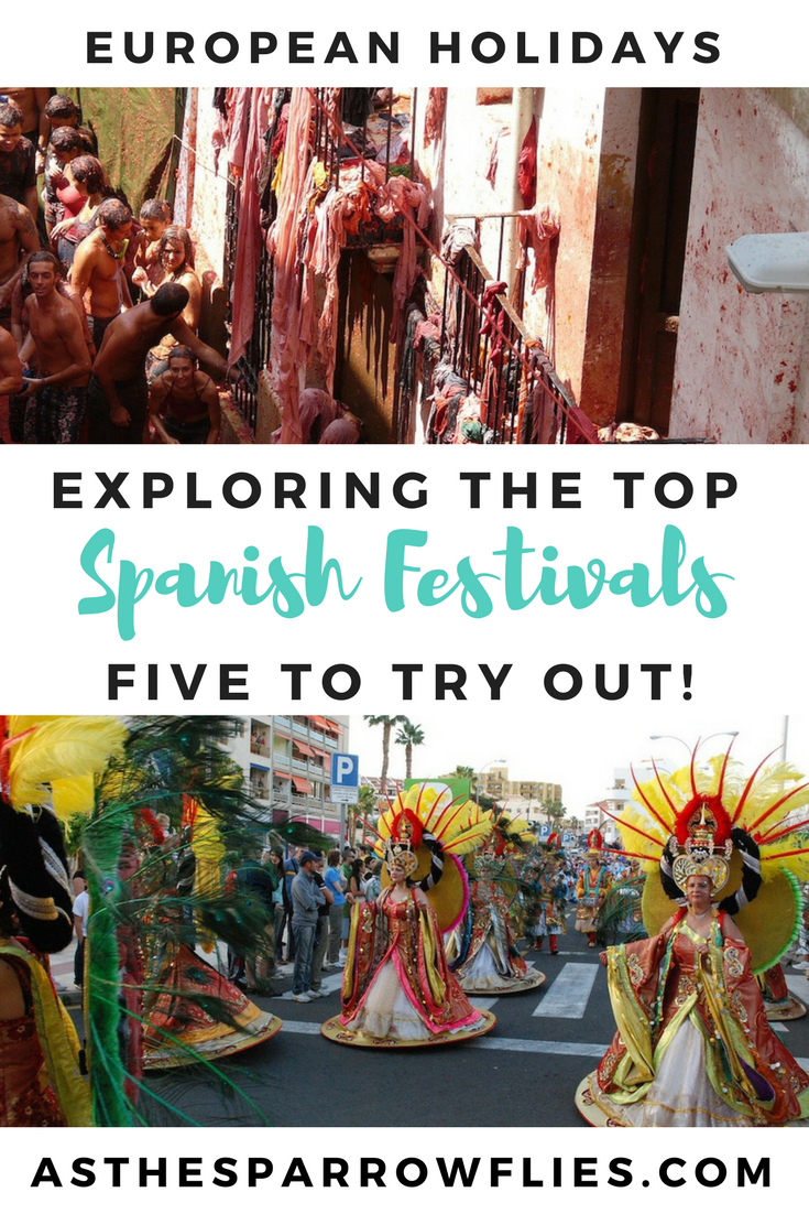 Spanish Festivals | What to do in Spain | La Tomantina | Travel Tips | European Travel #spain #travel
