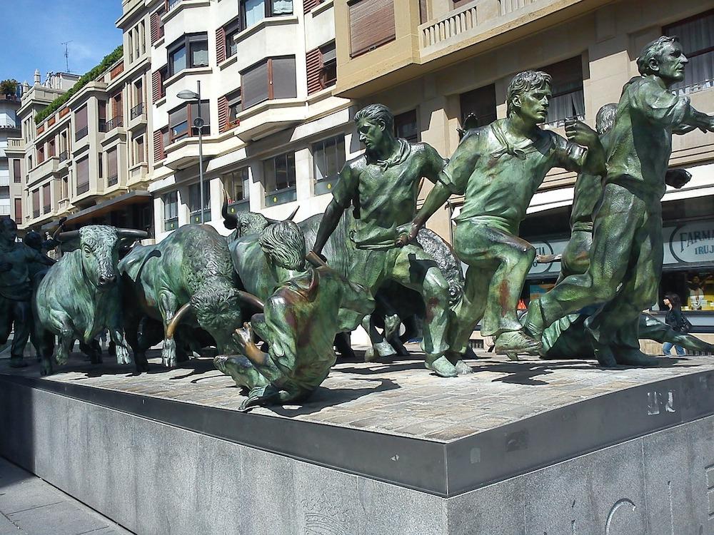 Spanish Festivals - Bull Run, Pamplona