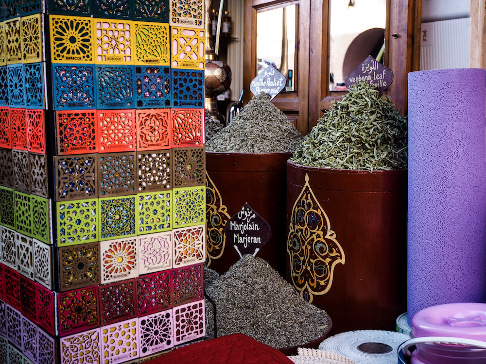 Foodies Guide to Marrakech, Spice Stall