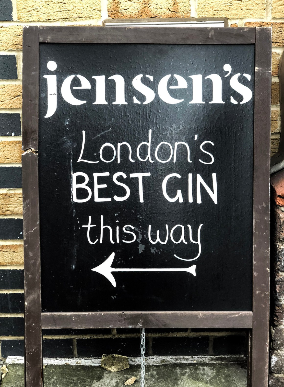 Jensen's at Gin Journey Bermondsey