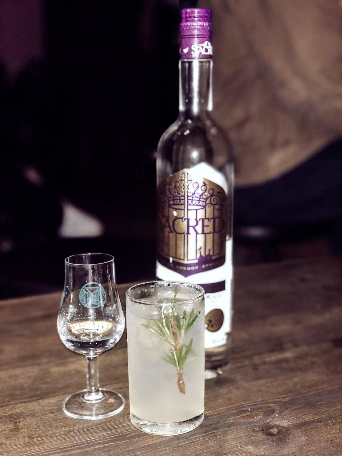 Sacred Gin at Gin Journey Bermondsey