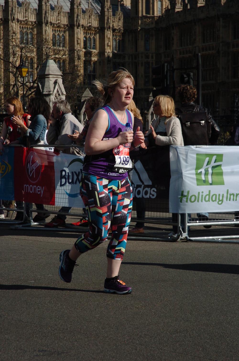 Running the London Marathon