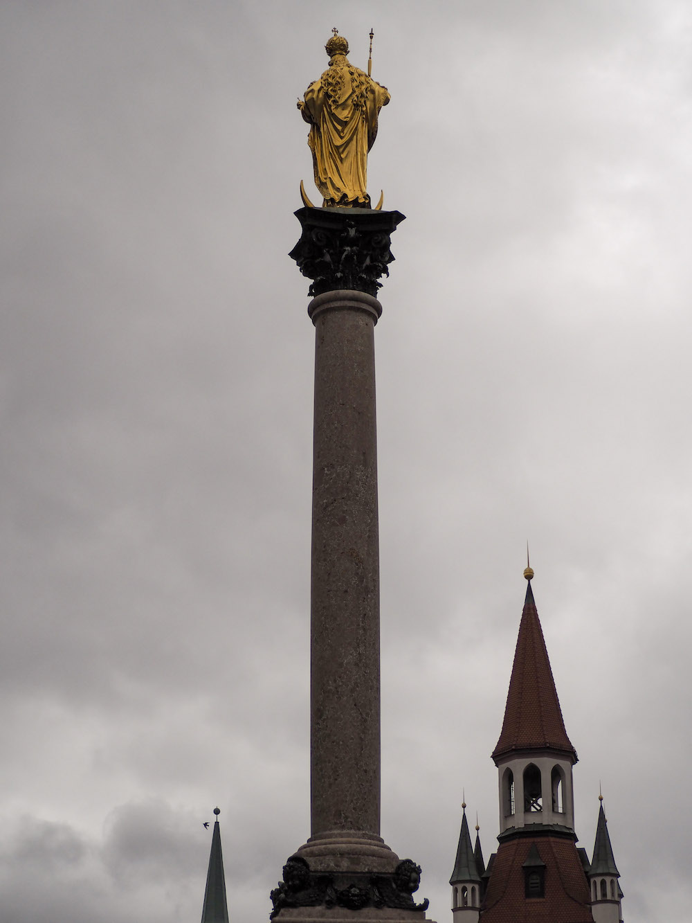 St Mary's Column, Long Weekend in Munich