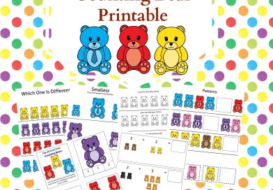 45 Page Counting Bears Printable