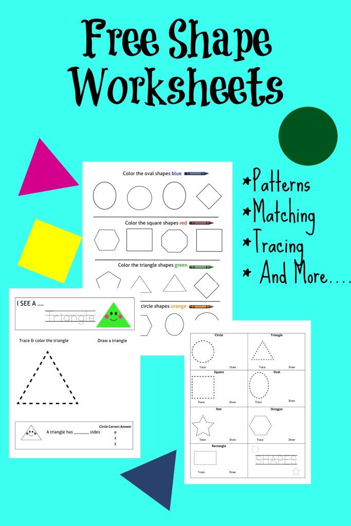 Free Shape Worksheet