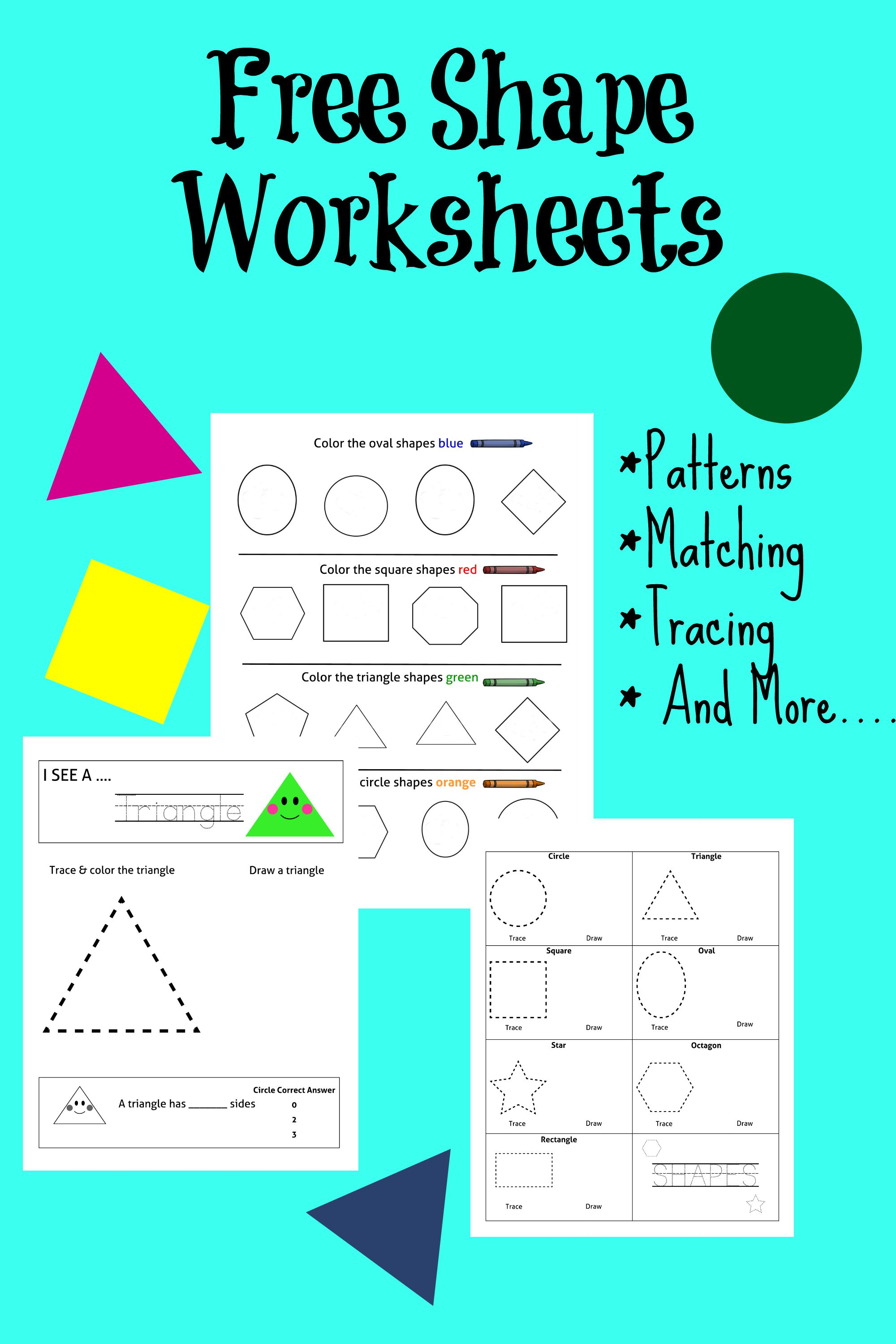 FREE Printable: Fun With Shapes