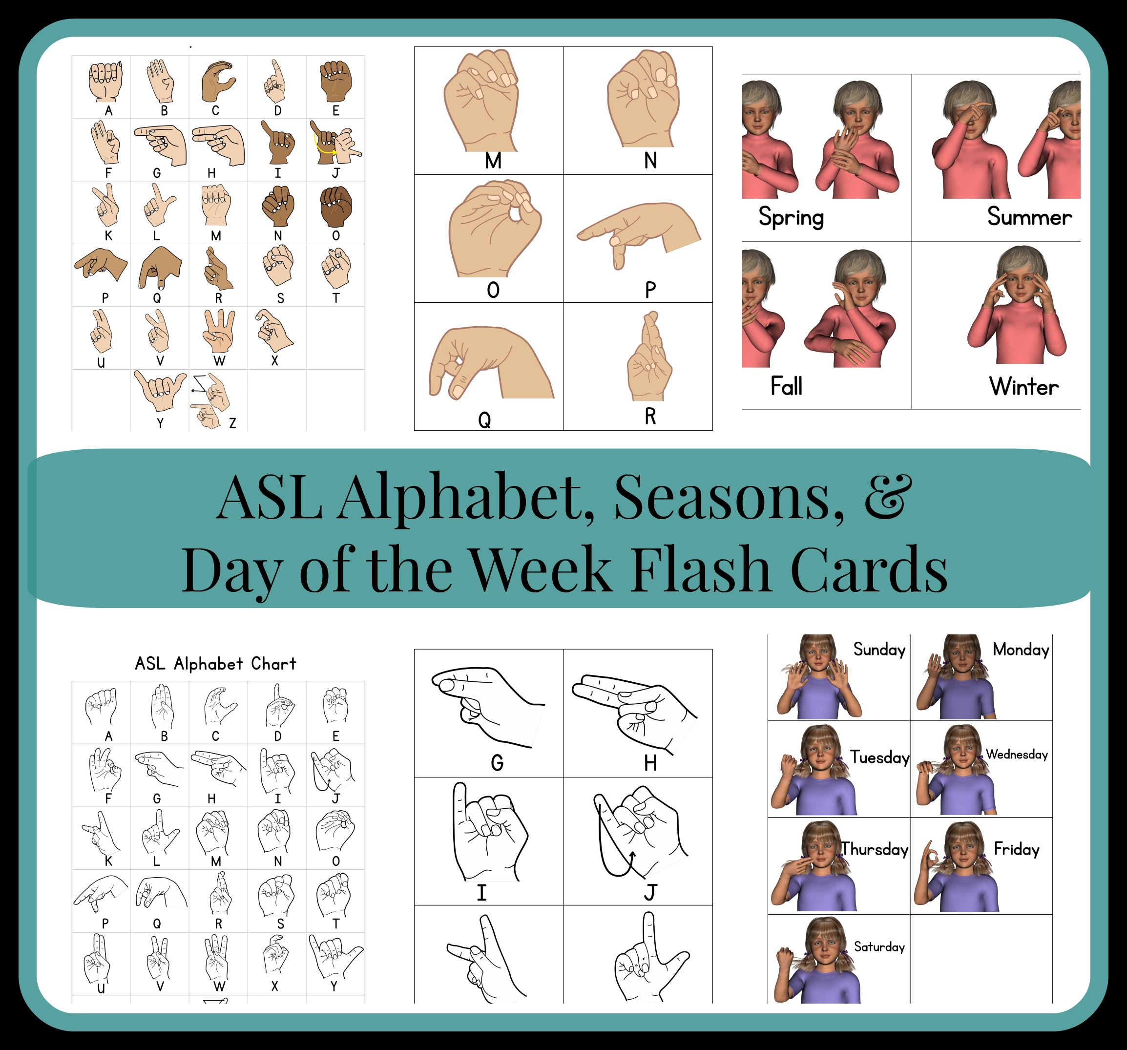 image regarding Asl Flash Cards Printable named ASL Flash Playing cards As They Improve Up