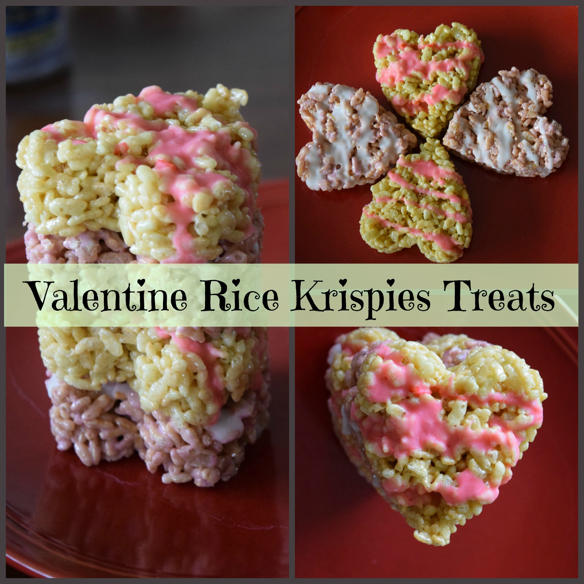 Valentine S Day Rice Krispies Treats And Free Printable