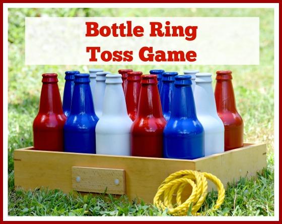 Bottle Ring Toss Game