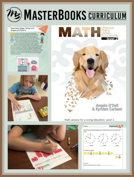 Math: Lessons For A Living Education from Masterbooks