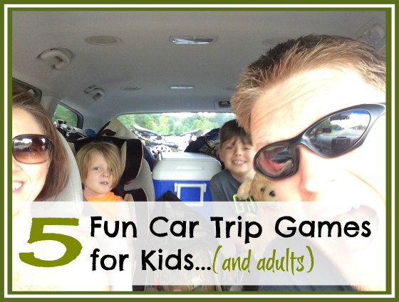 5 Fun Car Trip Games for Kids...(and adults)