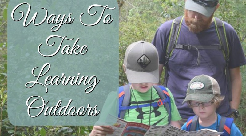 4 Ways to Take Learning Outdoors