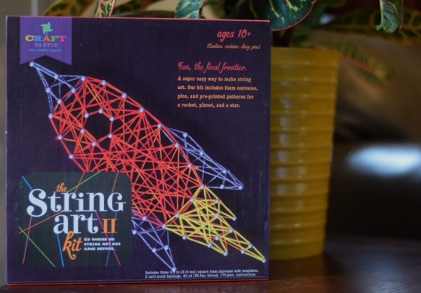 Craft-tastic String Art II Outer Space Kit from Timberdoodle Review