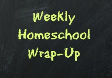 Weekly Homeschool Wrap-Up ~ Kicking Off A New School Year