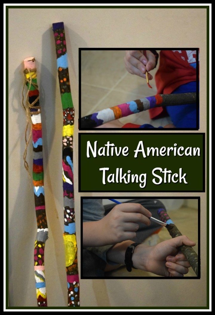 Native American Talking Stick Activity