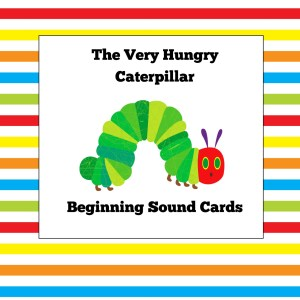 Very Hungry Caterpillar Beginning Sound Cards