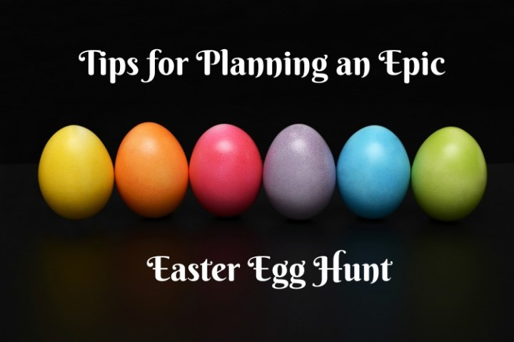 Organizing an Easter Egg Hunt