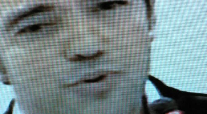 Alexis Tsipras im Fernsehen