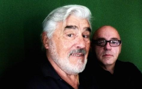 Mario Adorf und Gert Hof, fotografiert von Asteris Kutulas