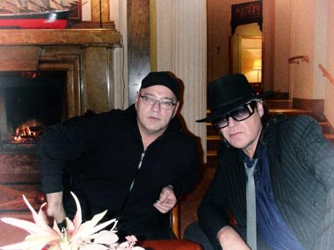 Gert Hof und Udo Lindenberg fotografiert von Asteris Kutulas