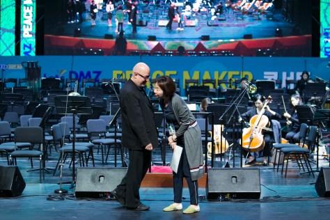 South Korea Peace Concert and Mikis Theodorakis' 3rd Symphony, Asteris Kutulas