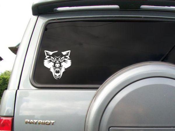 Наклейка Волк на машину, купить наклейку волк на машину ...
