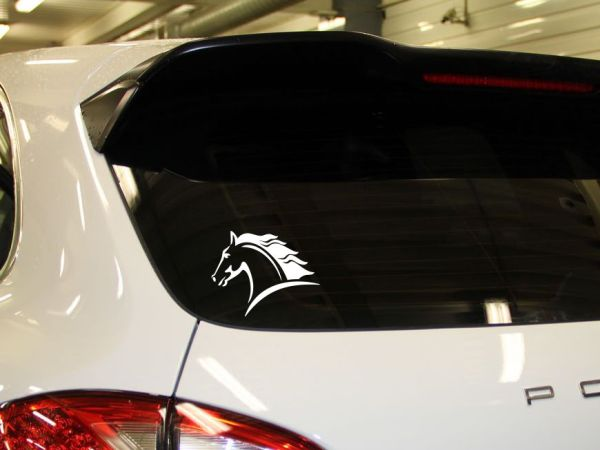 Наклейка на машину - Конь купить наклейку на машину конь ...