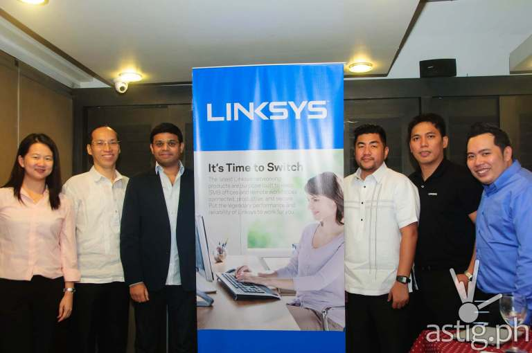 Linksys and International Micro Village Inc (IMVI) executives