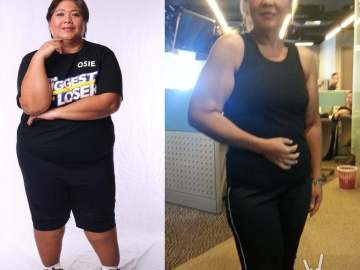 Before and after: Osie of The Biggest Loser Pinoy Edition Doubles