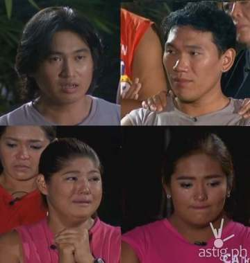 Du brothers Ralph and Christian and showbiz royalties Pat and Cathy admit to bringing in cigarettes, junk food, and weight loss supplements, items prohibited inside the Biggest Loser camp