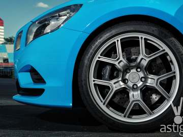 Michelin PSS Polestar Closeup