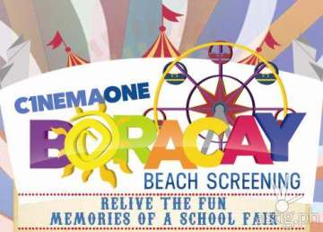 Cinema One Boracay Beach Screening 2014