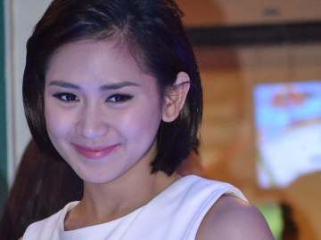 Sarah Geronimo one of the three Judges in The Voice Kids