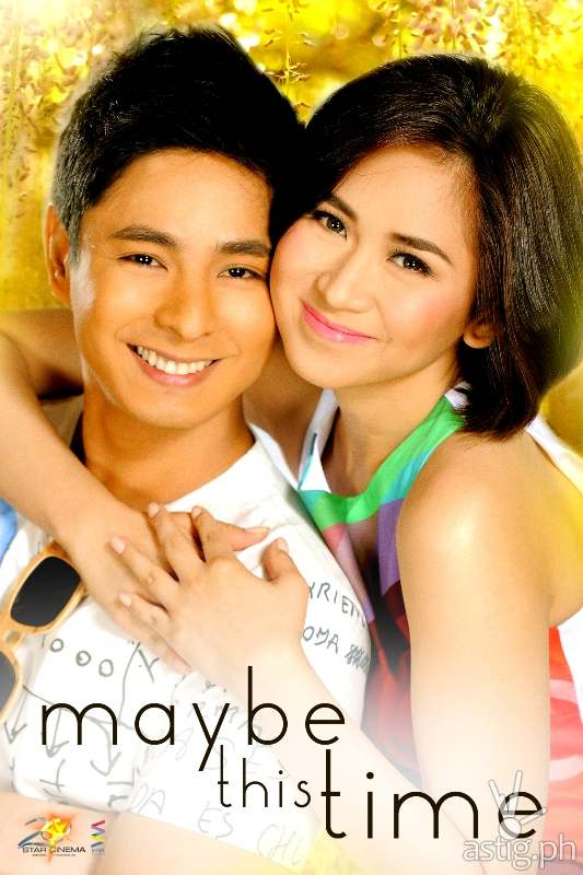 Sarah Geronimo and Coco Martin in Maybe This Time