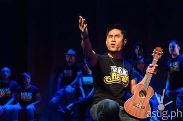 Myke Salmon, Musical Director for Rak of Aegis