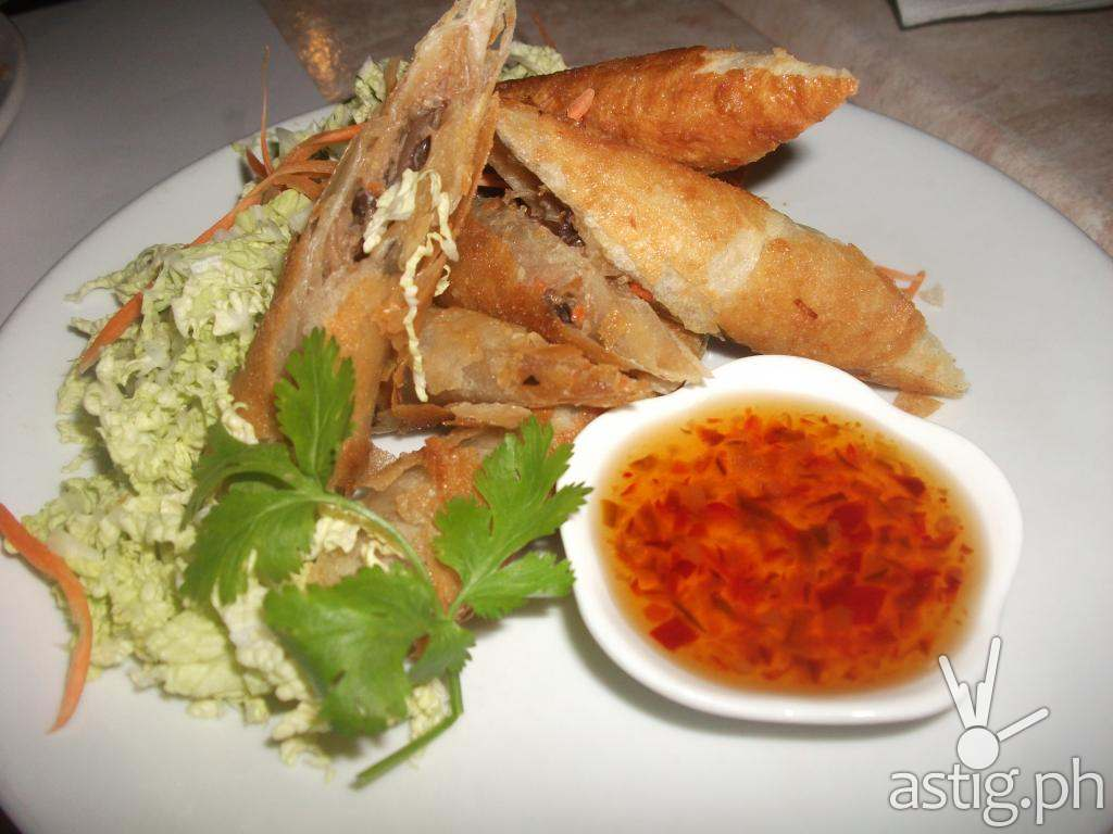 Poh Piah Tod or Thai Spring Rolls at Just Thai (PHP 260 per order)