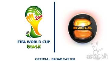 Balls Channel is the official broadcaster of the 2014 FIFA World Cup in Brazil